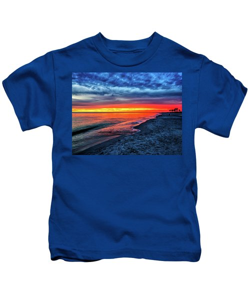 Captiva Island Sunset Kids T-Shirt