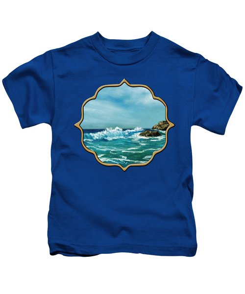 Caribbean Sea Kids T-Shirt