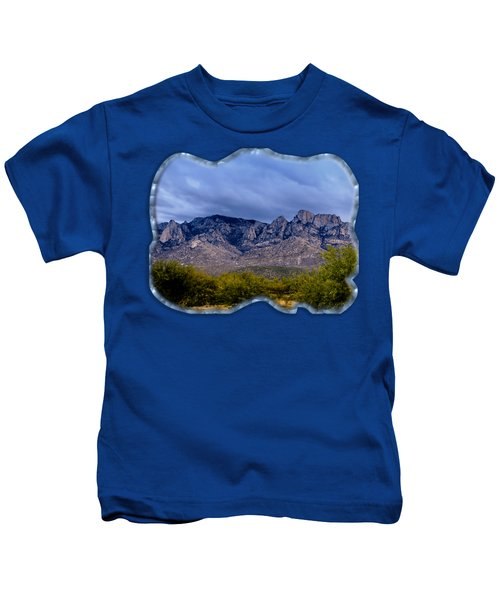 Catalina Mountains P1 Kids T-Shirt