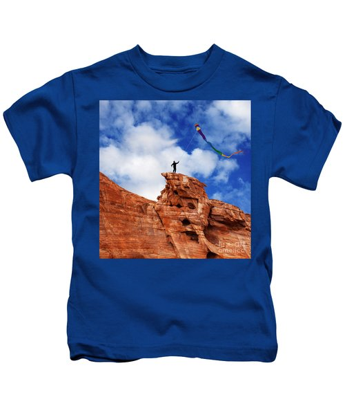 Catch The Wind Kids T-Shirt