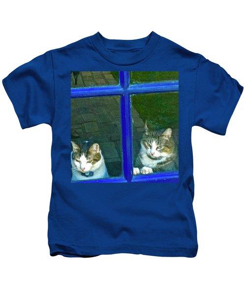 Cats On Baylor Street Kids T-Shirt