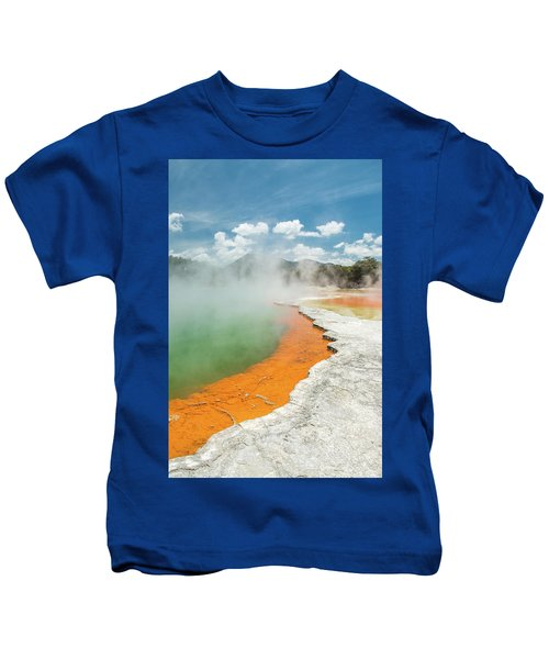 Champagne Pool Kids T-Shirt