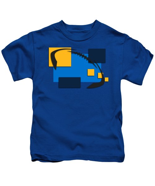 Chargers Abstract Shirt Kids T-Shirt