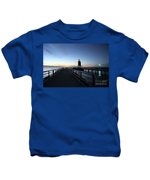 Charlevoix Light Tower Kids T-Shirt