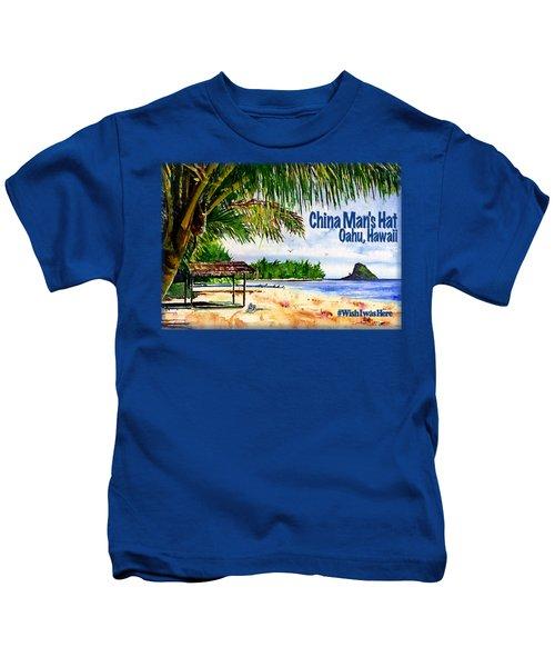 Chinaman Hat Island Shirt Kids T-Shirt
