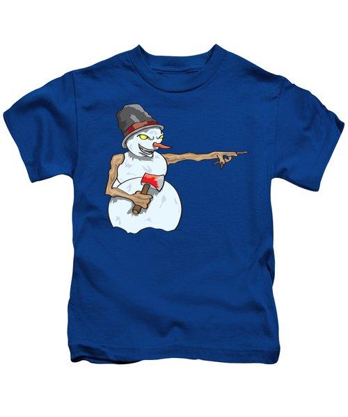 Christmas Horror Nightmares Kids T-Shirt