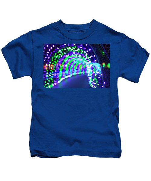 Christmas Lights Decoration Blurred Defocused Bokeh Kids T-Shirt