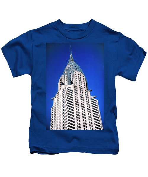 Chrysler Building Kids T-Shirt