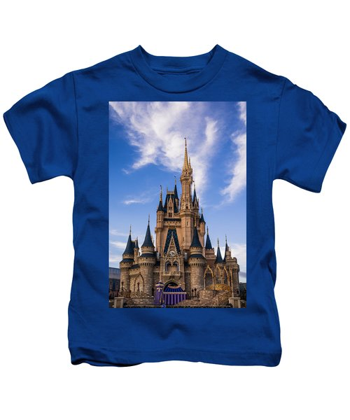Cinderella Castle Kids T-Shirt