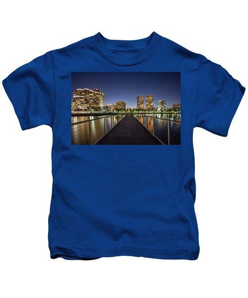 City Skyline Kids T-Shirt