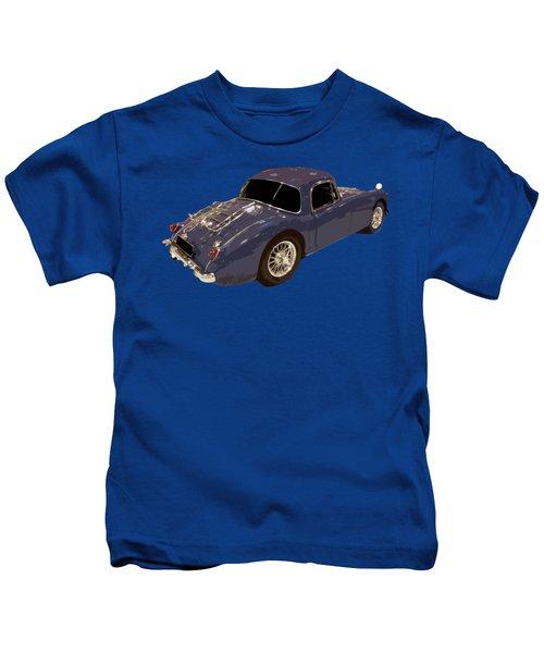Classic Sports Blue Rear Kids T-Shirt