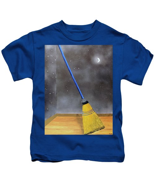 Cleaning Out The Universe Kids T-Shirt