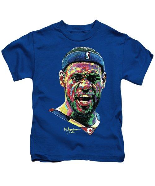 Cleveland's Pride Kids T-Shirt by Maria Arango