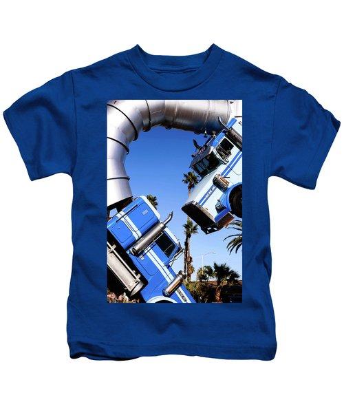 Closeup On Big Rig Jig Kids T-Shirt