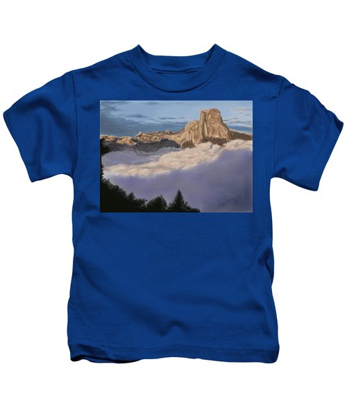 Cold Mountains Kids T-Shirt