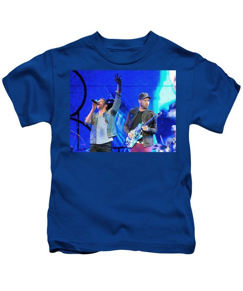 Coldplay6 Kids T-Shirt by Rafa Rivas