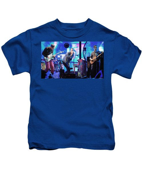 Coldplay7 Kids T-Shirt by Rafa Rivas