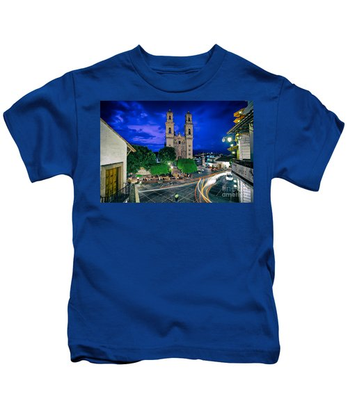 Colonial Town Of Taxco, Mexico Kids T-Shirt