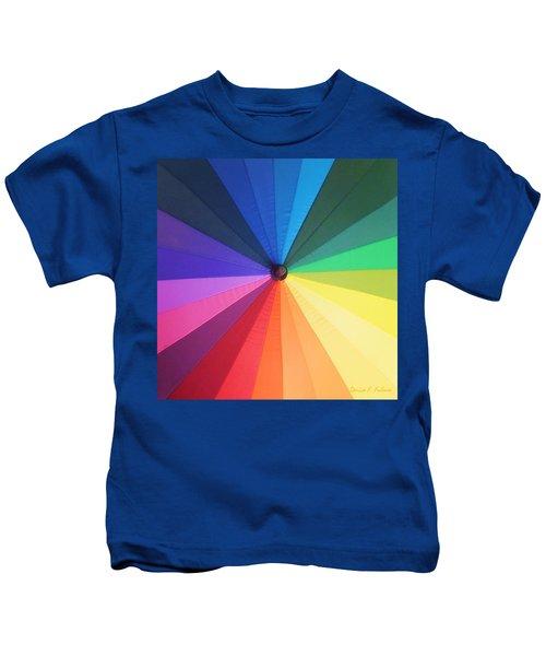 Color Wheel Kids T-Shirt
