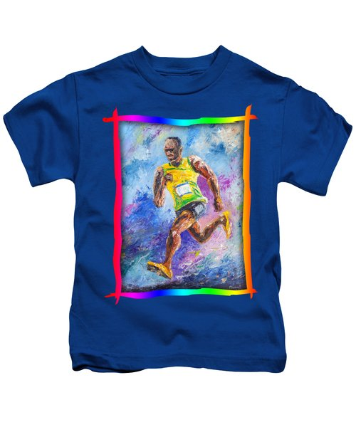 Colors Of Speed Kids T-Shirt
