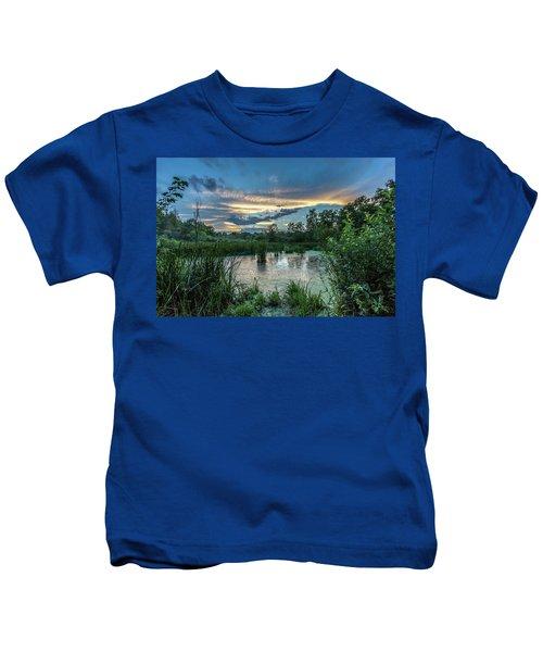 Columbia Marsh Sunset Kids T-Shirt