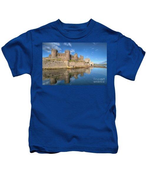 Conwy Castle Kids T-Shirt