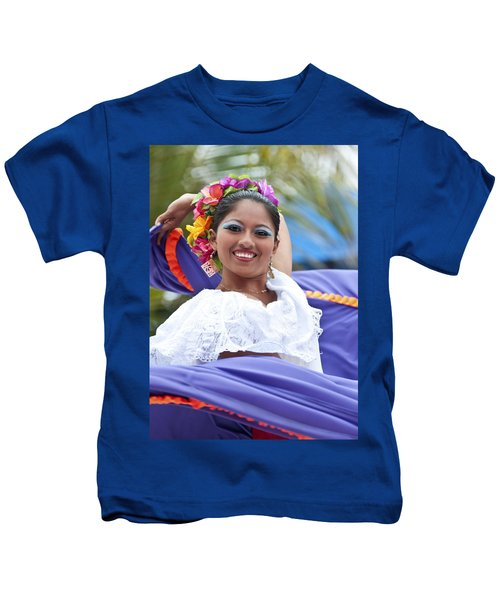 Costa Maya Dancer Kids T-Shirt