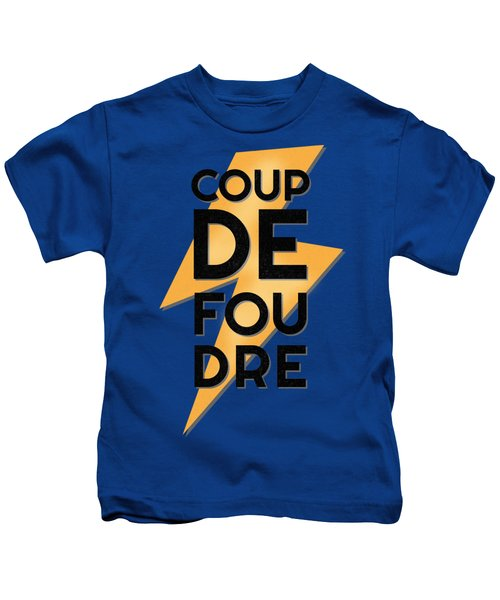 Coup De Foudre - Love At First Sight Kids T-Shirt