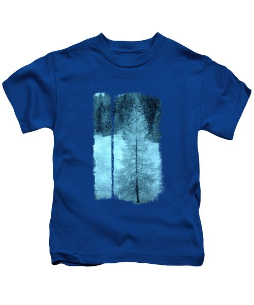 Crystal Larch Kids T-Shirt by AugenWerk Susann Serfezi