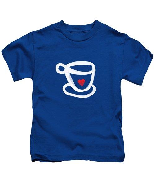 Cup Of Love- Shirt Kids T-Shirt