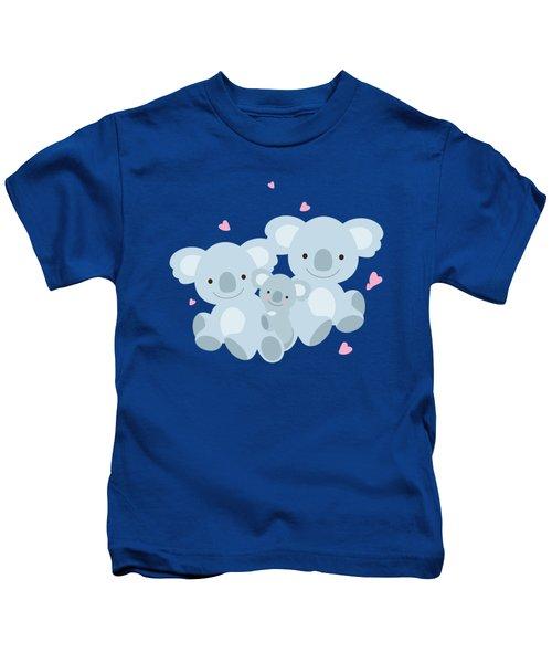Dad A Daughter's First Love Kids T-Shirt