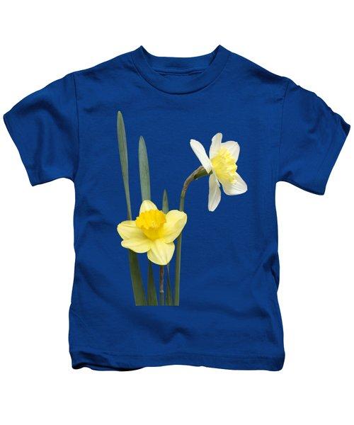 Daffodil Pair - Transparent Kids T-Shirt