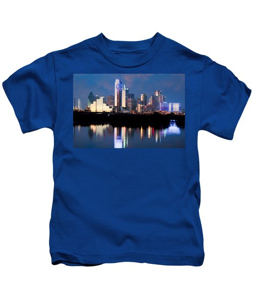 Dallas Skyline May 2015 Kids T-Shirt