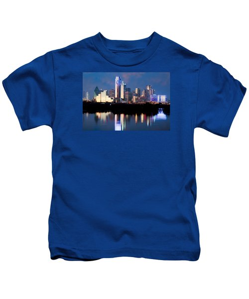 Dallas Skyline May 2015 Kids T-Shirt