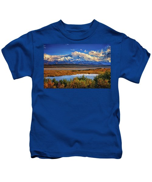 Denali, The High One Kids T-Shirt