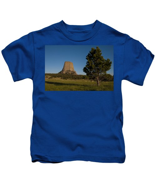 Devil's Tower Kids T-Shirt