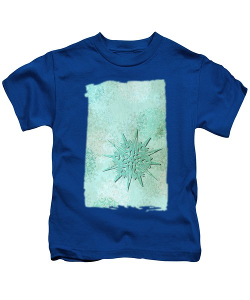 Diamond Dust Kids T-Shirt by AugenWerk Susann Serfezi