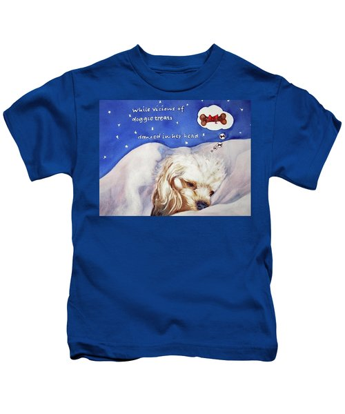 Doggie Dreams Kids T-Shirt