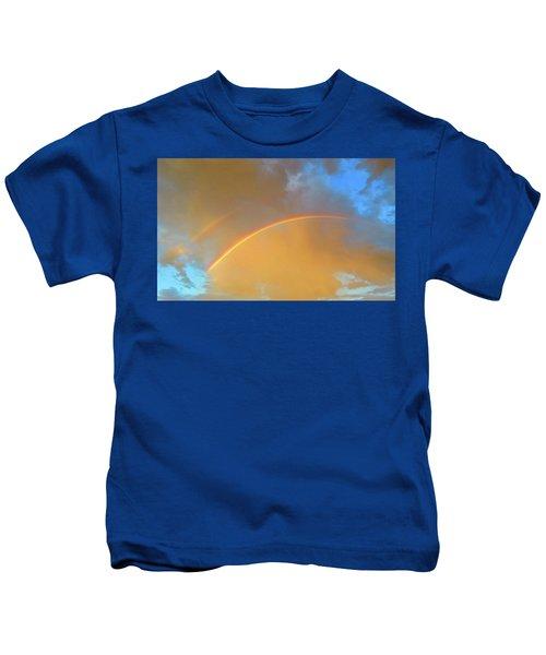 Double Rainbows In The Desert Kids T-Shirt