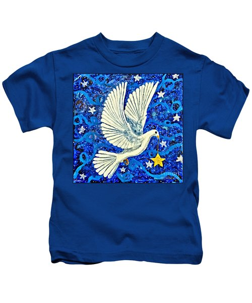 Dove With Star Kids T-Shirt