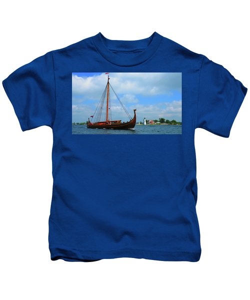 The Draken Passing Rock Island Kids T-Shirt