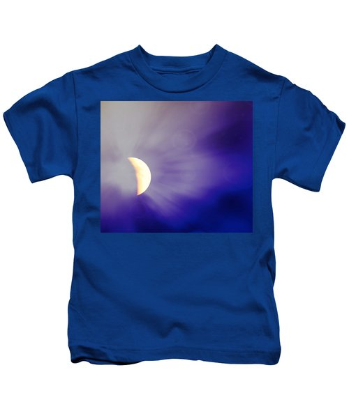 Aries Moon During The Total Lunar Eclipse 3 Kids T-Shirt