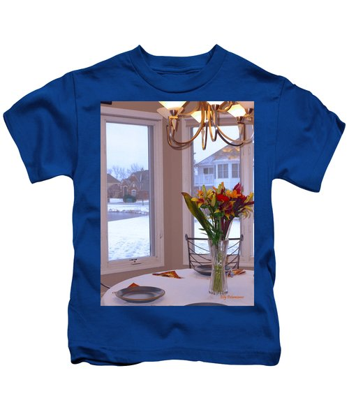 Dusk Dining View Kids T-Shirt