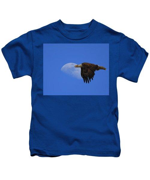Eagle Moon Kids T-Shirt