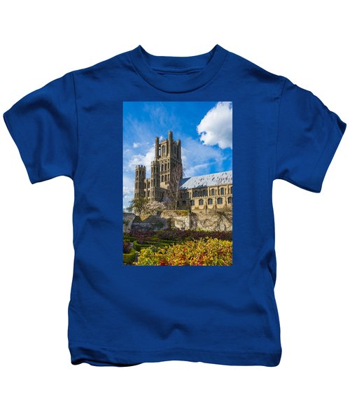 Ely Cathedral And Garden Kids T-Shirt