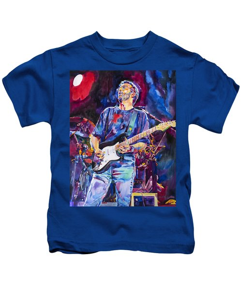 Eric Clapton And Blackie Kids T-Shirt