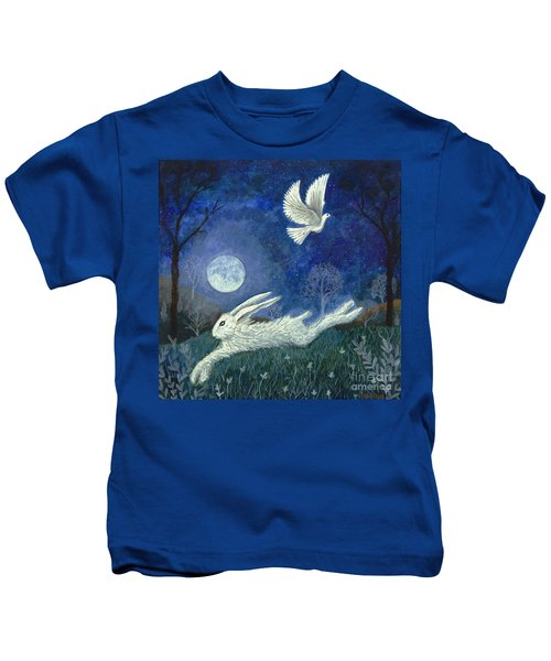 Escape With A Blessing Kids T-Shirt