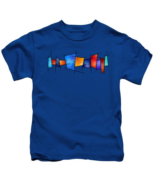 Esseniumos V1 - Square Abstract Kids T-Shirt