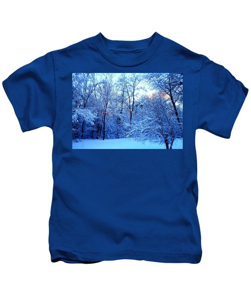 Ethereal Snow Kids T-Shirt