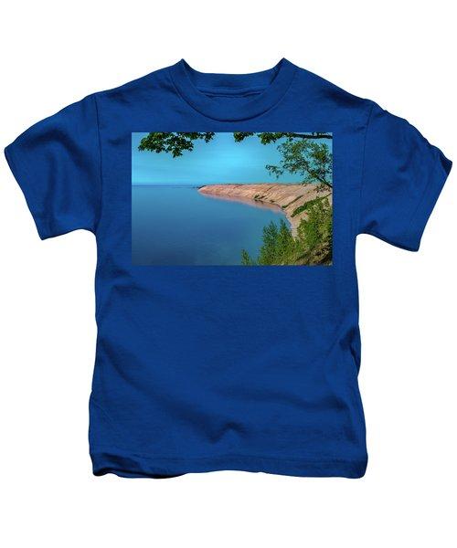 Eveing Light On Grand Sable Banks Kids T-Shirt
